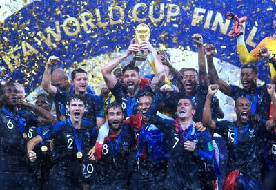 France champion of the Football World Cup Russia 2019