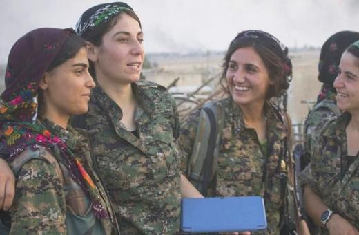 YPJ the rojava revolution
