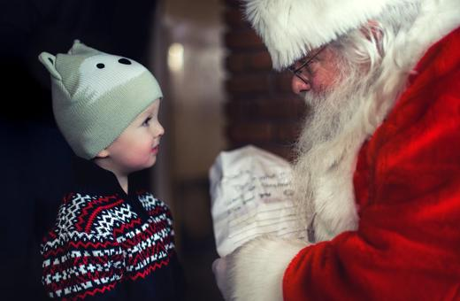 should parents lie to their children about santa claus